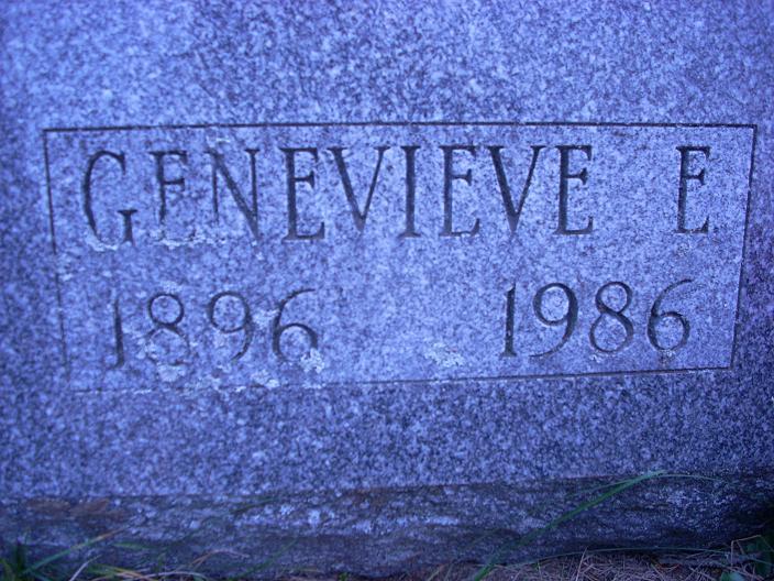 Genevieve Ellen <i>Pratt</i> Hall or Mullens