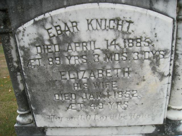 Elizabeth <i>Weekes</i> Knight