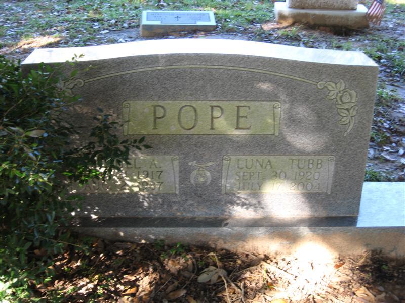 Luna Ophelia <i>Tubb</i> Pope