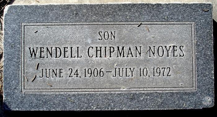 Wendell Chipman Noyes