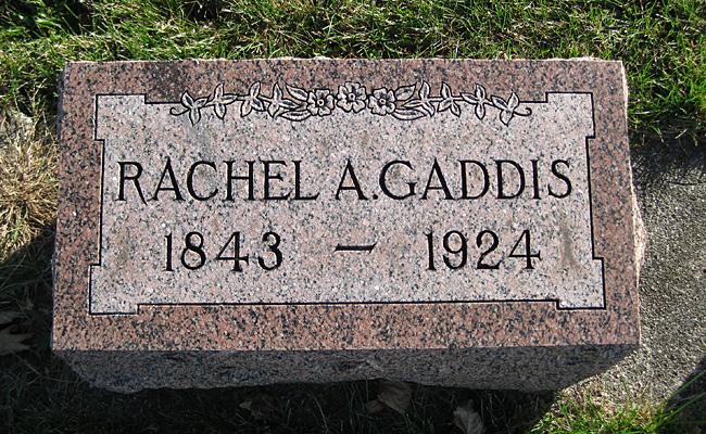 Rachel A. Gaddis