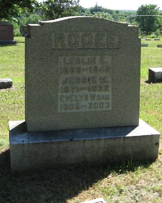 Evelyn W. Rodee