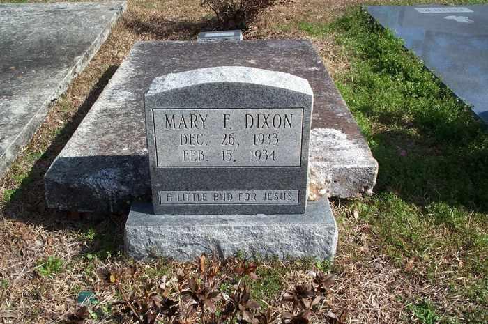 Mary F Dixon