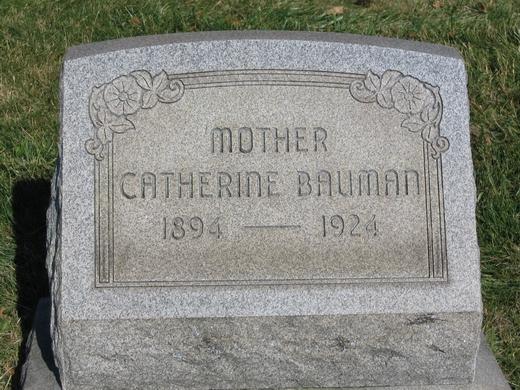 Catherine <i>Kierstein</i> Bauman