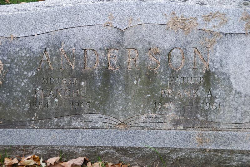 Blanche <i>Pruden</i> Anderson