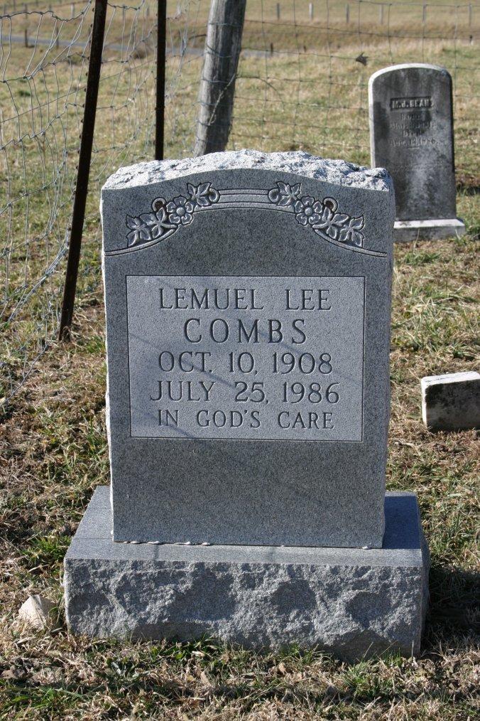 Lemuel Lee Combs