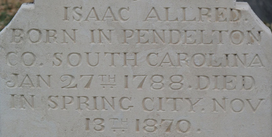 Isaac Allred