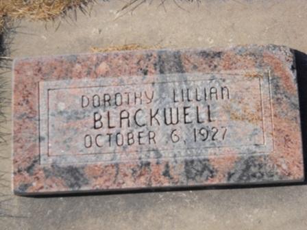 Dorothy Lillian Blackwell