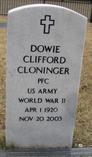 Dowie Cloninger, Sr