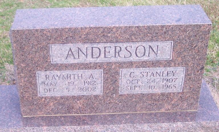 Raymith Alva <i>Pickens</i> Anderson