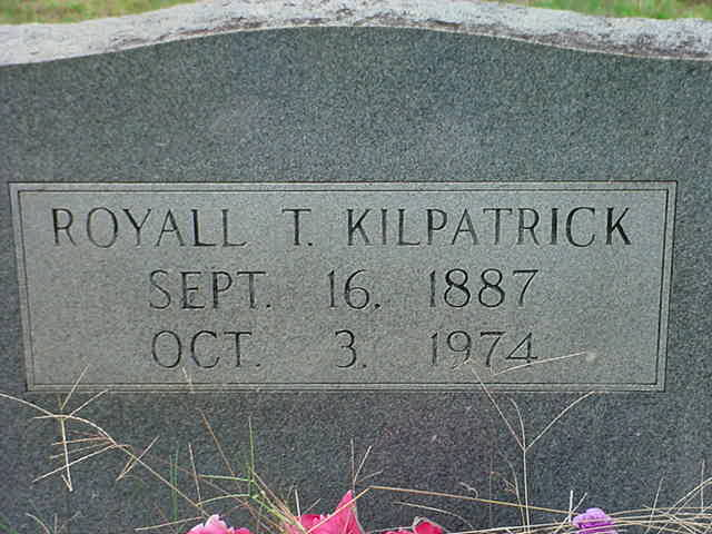 Royall Thomas Kilpatrick