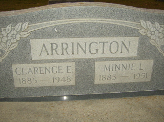 Minnie L. <i>Dickens</i> Arrington