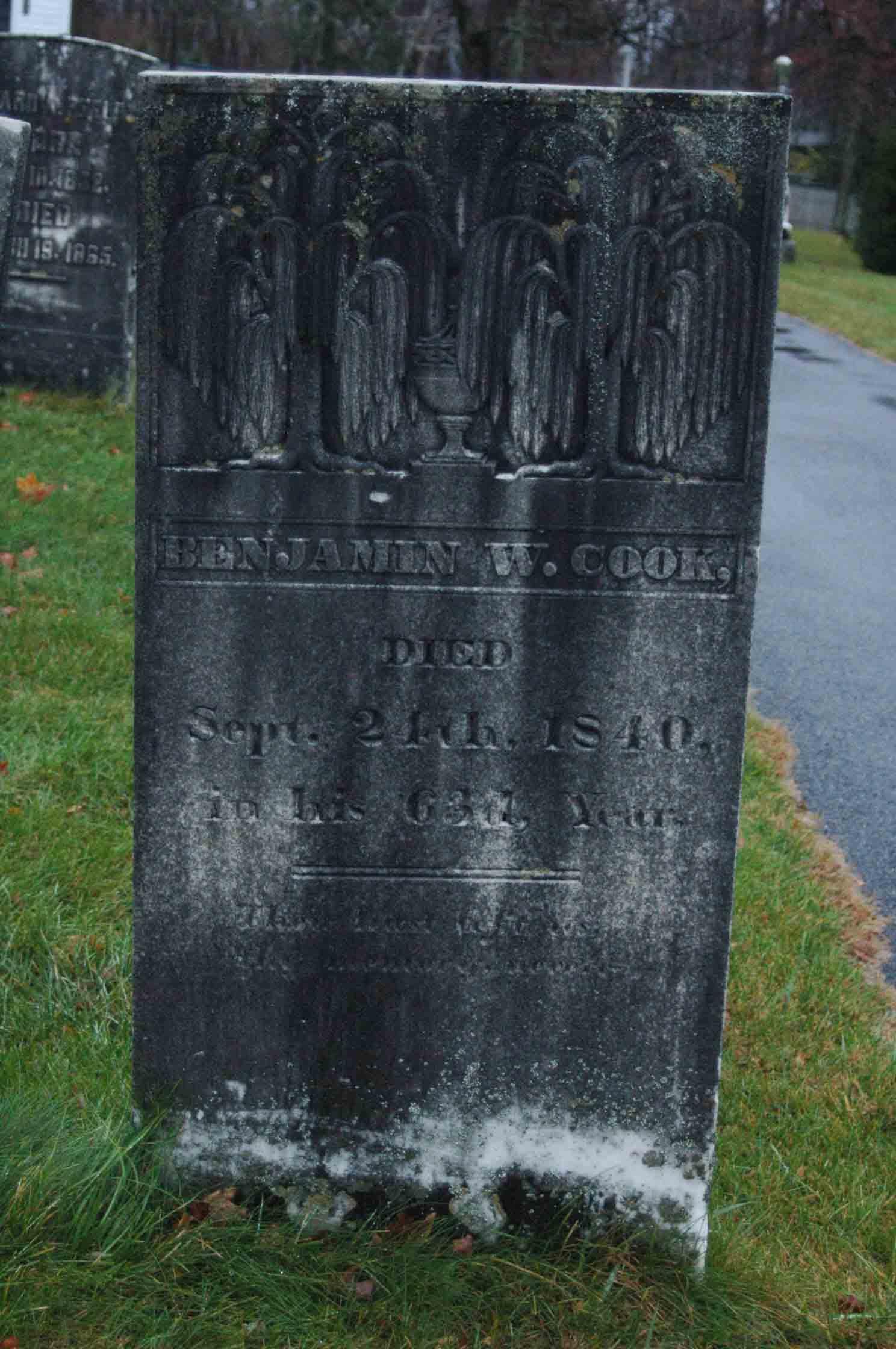 Benjamin W Cook