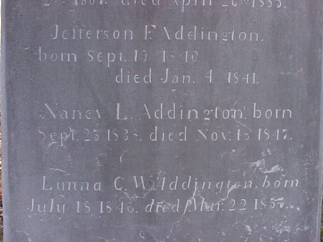 Nancy L Addington