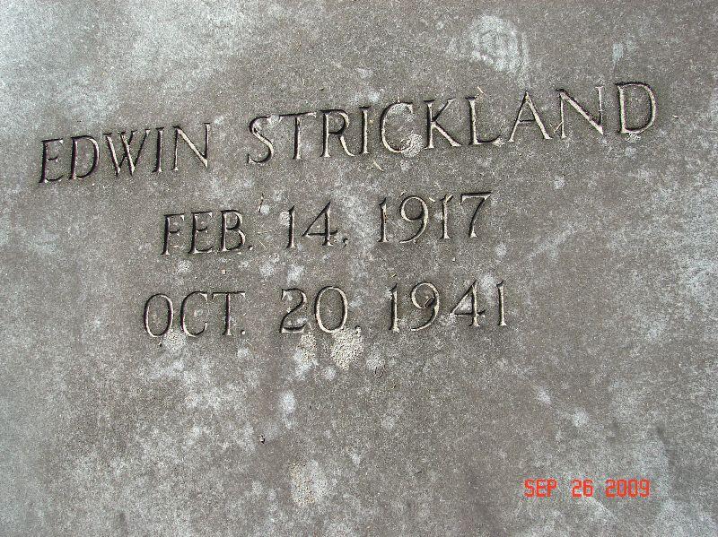 Edwin Strickland