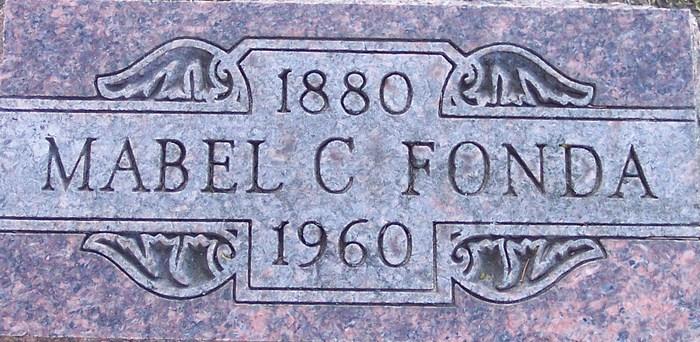 Mabel C Fonda