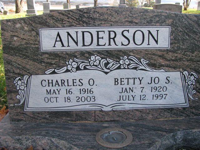 Betty Jo <i>Sillivan</i> Anderson