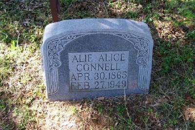 Alie Alice <i>Maddox</i> Connell