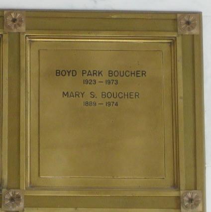 Boyd Park Boucher