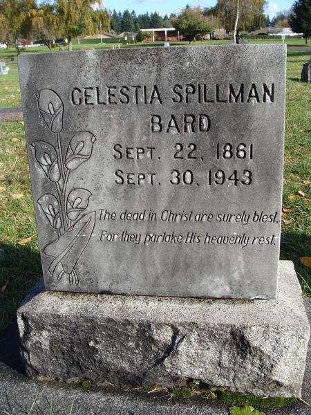 Celestia Jane Lettie <i>Parker</i> Bard