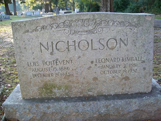 Lois Miranda <i>Poitevent</i> Nicholson