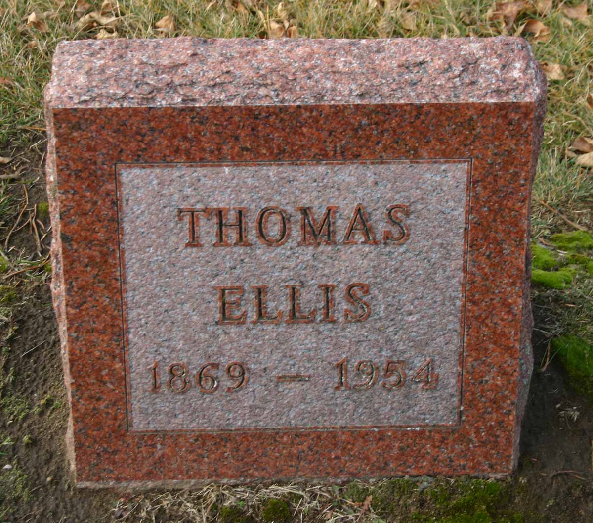 Thomas Harvey Ellis