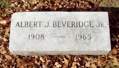 Albert Jeremiah Beveridge, Jr