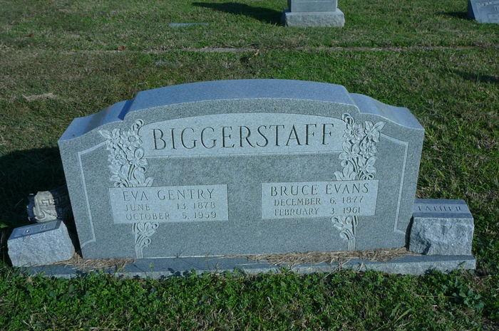 Eva <i>Gentry</i> Biggerstaff