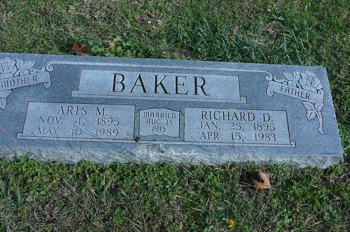 Aris Myrtle <i>Belew</i> Baker
