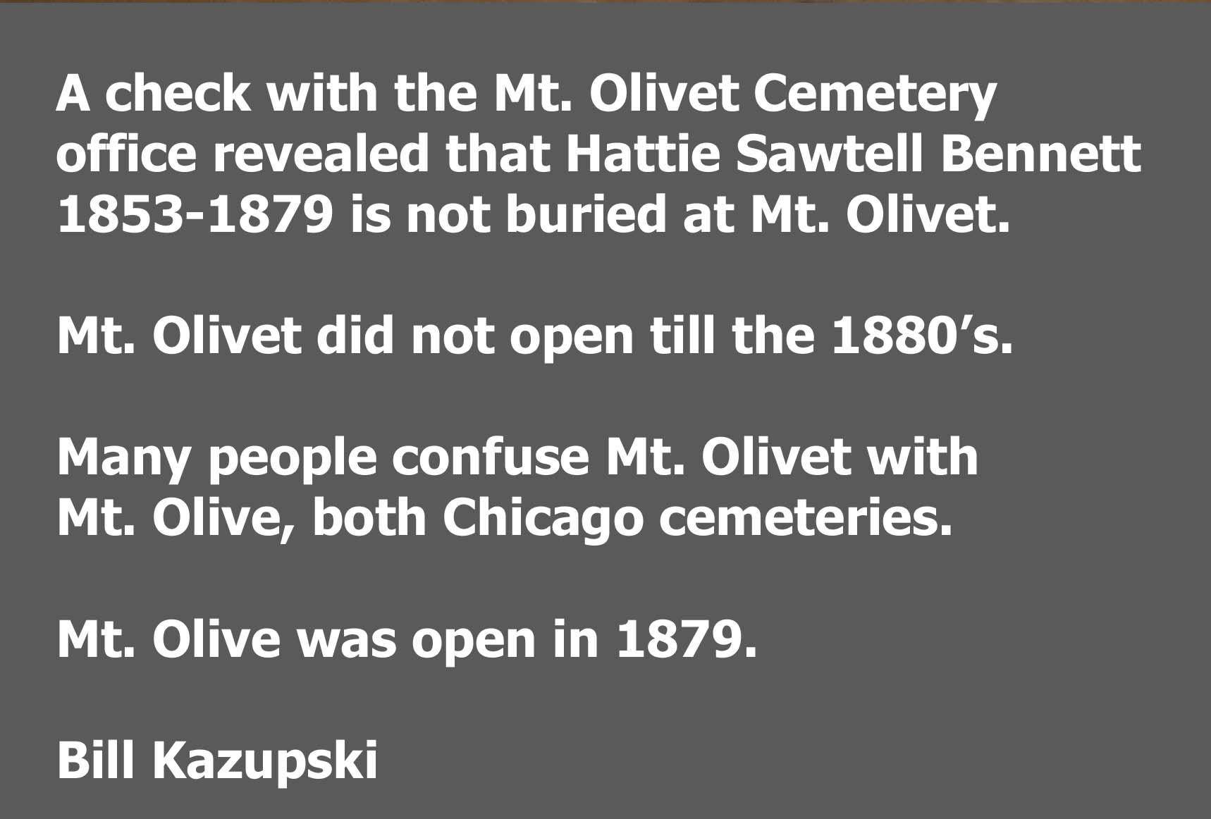 Hattie <i>Sawtell</i> Bennett