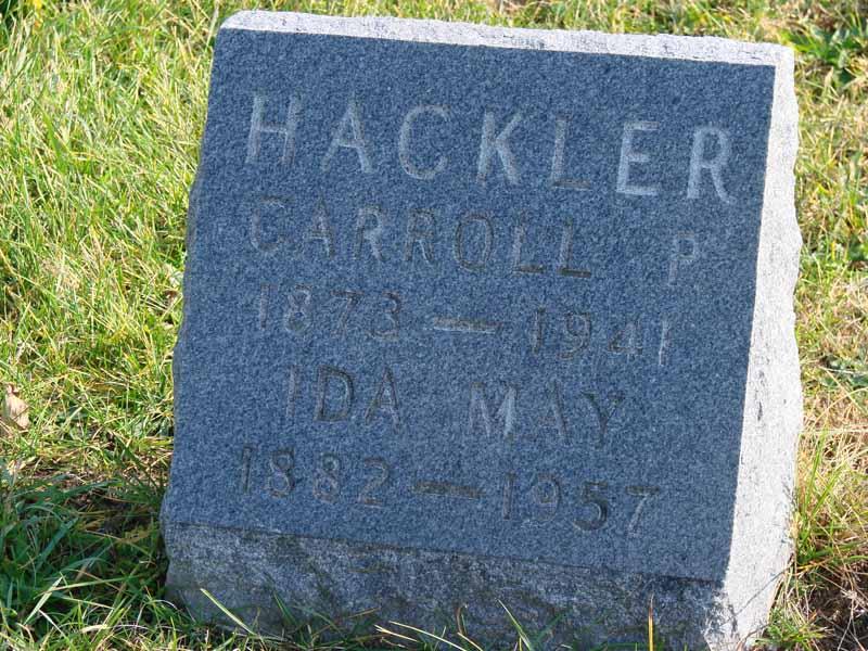 Ida May <i>Bennett</i> Hackler