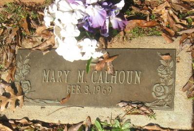 Mary M Calhoun