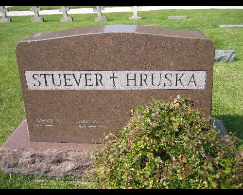 Louise H <i>Schmitt</i> Hruska