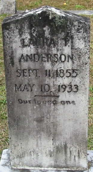 Laura T <i>Lusk</i> Anderson