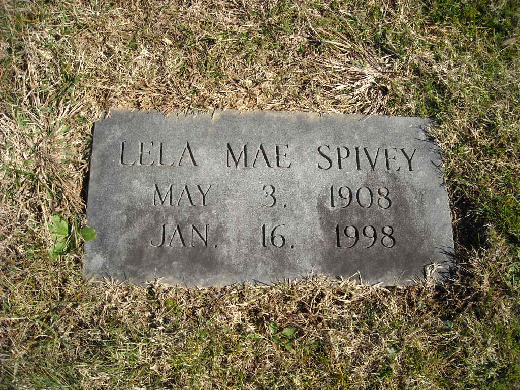 Ina Mae Spivey Cool lela mae spivey (1908-1998) - find a grave memorial
