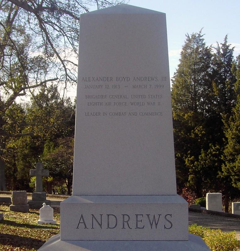 Gen Alexander Boyd Alex Andrews, III