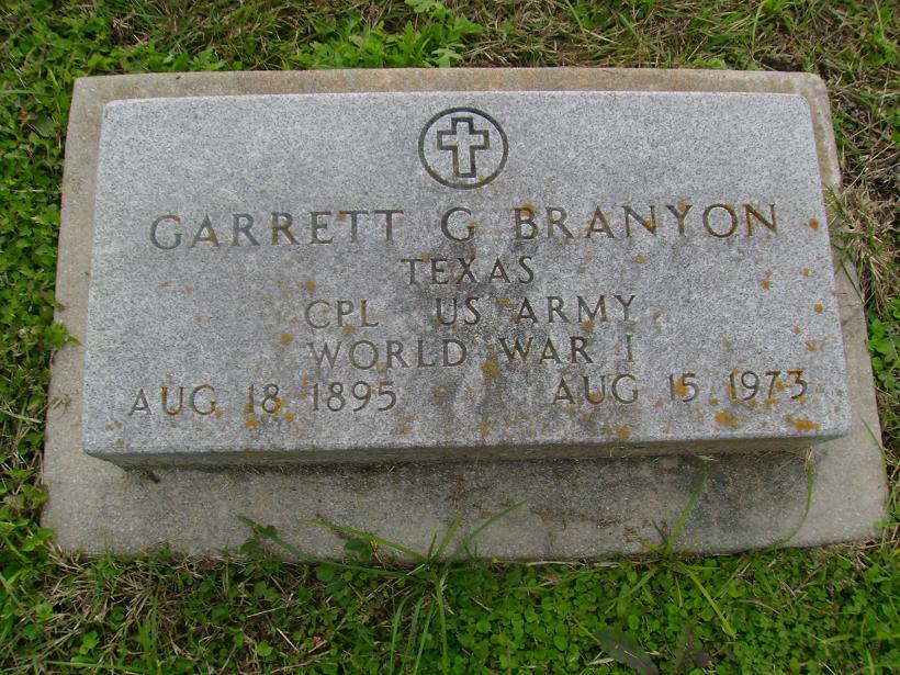 Garrett G Branyon