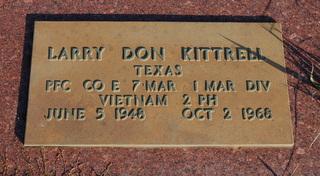 PFC Larry Don Kittrell
