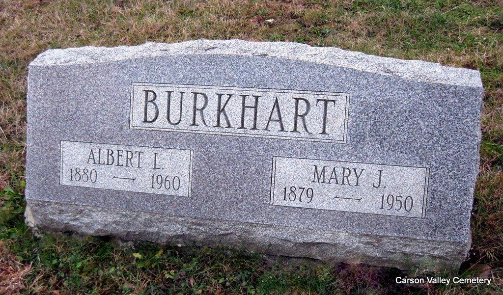 Mary Jane <i>McCracken</i> Burkhart