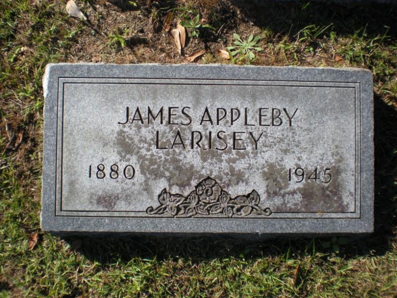 James Appleby Larisey