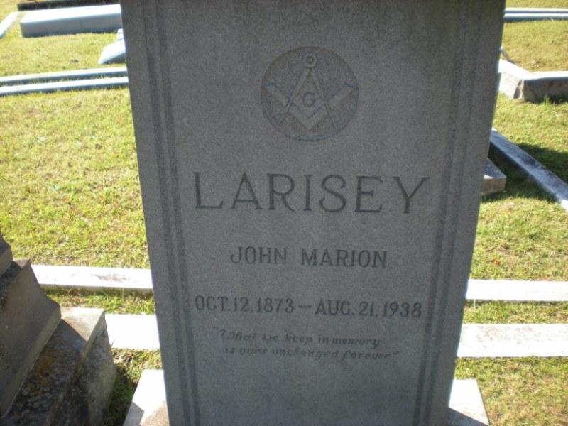 John Marion Larisey