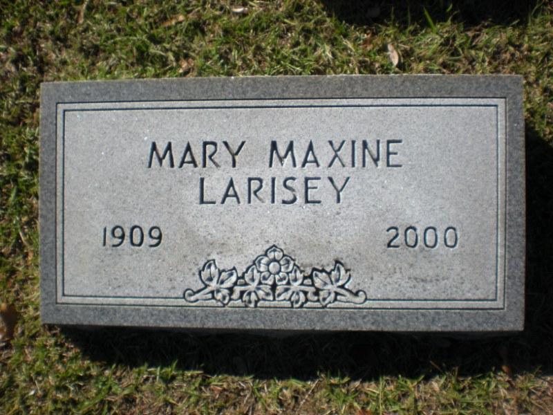 Mary Maxine Larisey