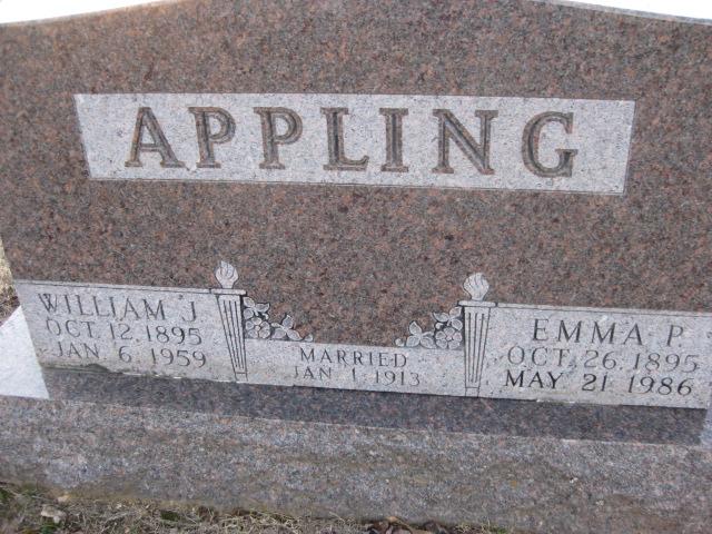 Emma Pearl <i>Miller</i> Appling