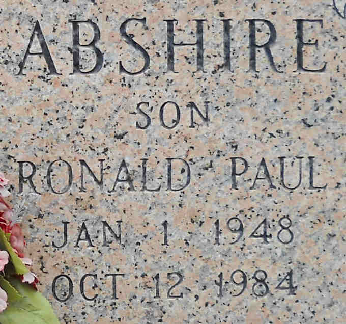 Ronald Paul Abshire