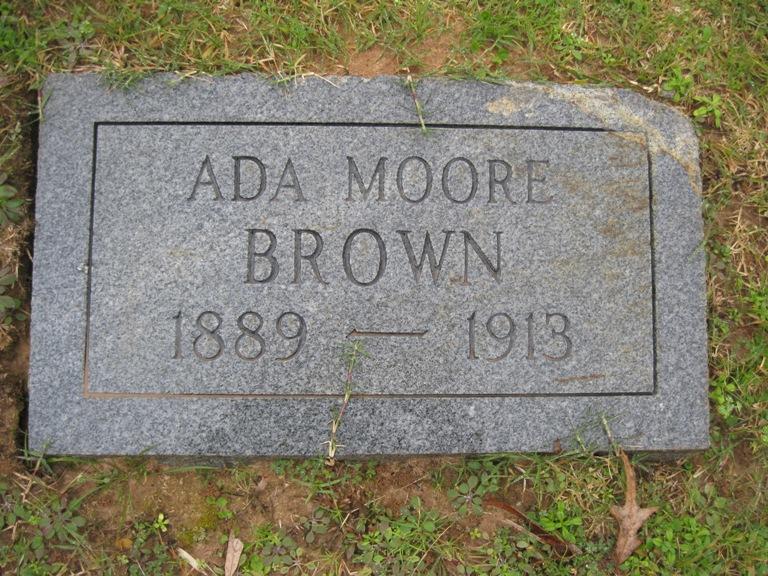 Ada <i>Moore</i> Brown