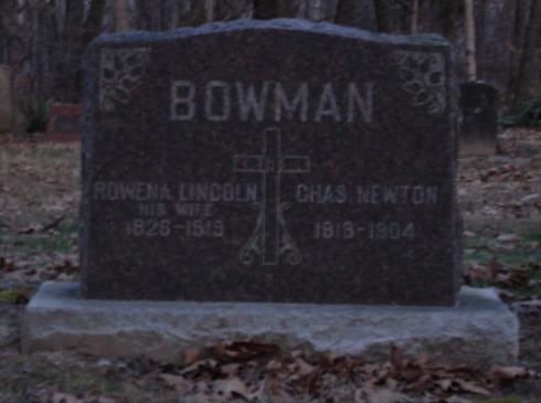 Mary Rowena <i>Lincoln</i> Bowman