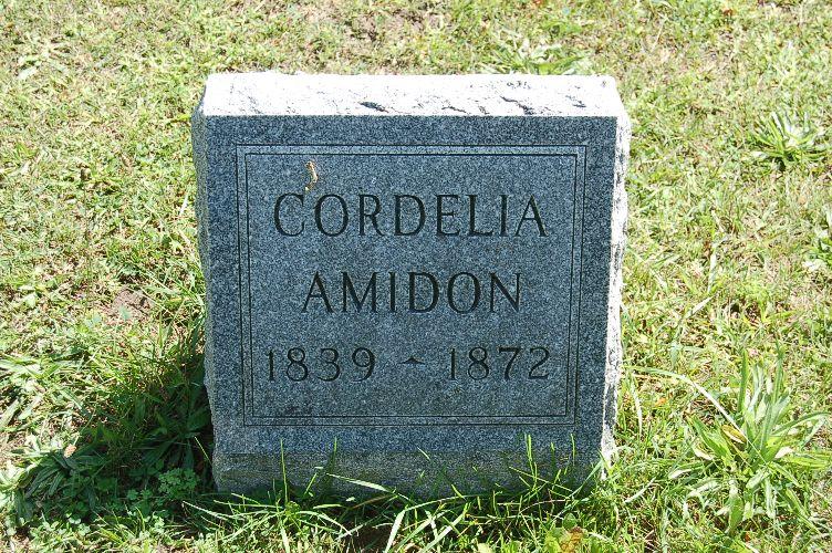 Cordelia Maria <i>Carnes</i> Amidon