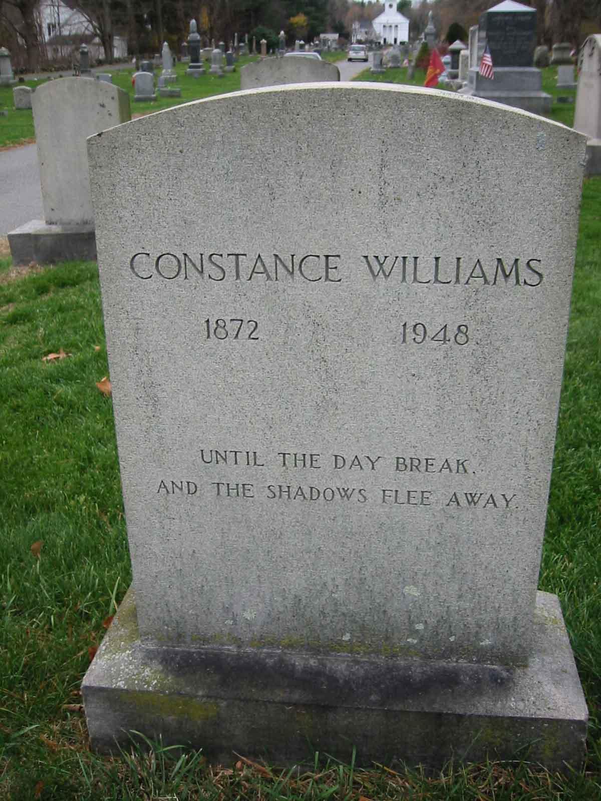 Constance Davis <i>Lodge Gardner</i> Williams