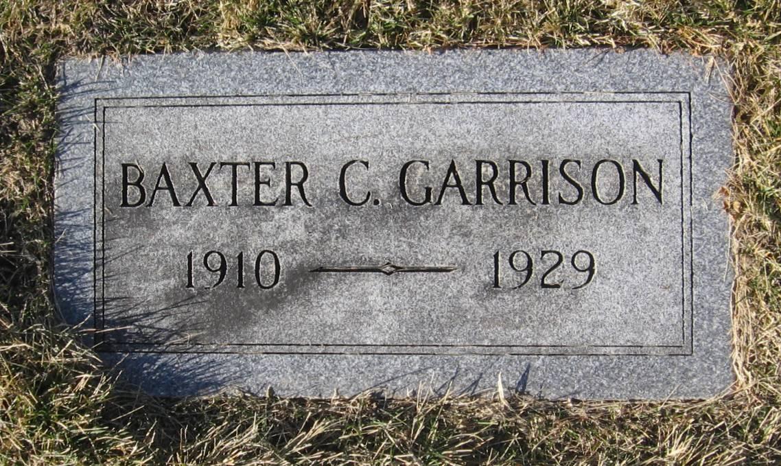 Baxter C Garrison