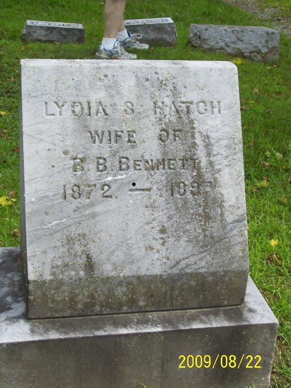 Lydia S. <i>Hatch</i> Bennett